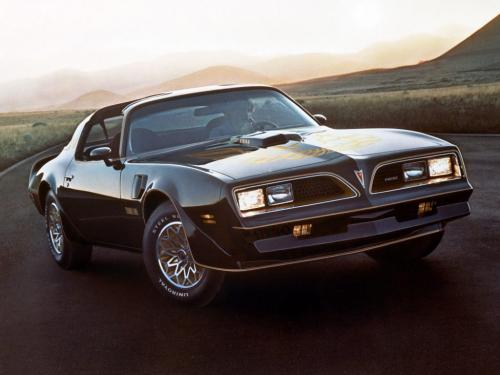 Pontiac Firebird Trans Am 1977 года