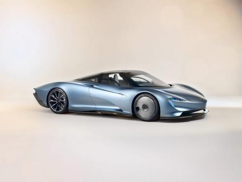 McLaren Speedtail 2019, вид сбоку