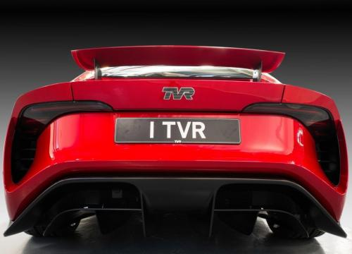 TVR Griffith, вид сзади