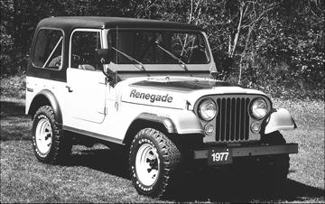 1977 Jeep CJ-7 Renegade