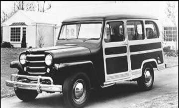 1950 Jeep Willys Station Wagon