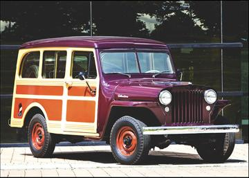 1949 Jeep Willys Station Wagon.