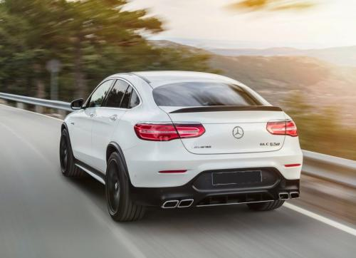 Mercedes-AMG GLC63 Coupe 2018, вид сзади