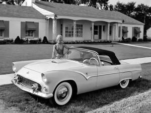Прототип Ford Thunderbird, 1954 год