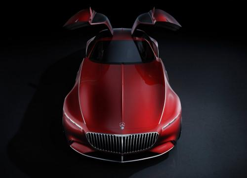 Концепт-кар Mercedes-Benz Vision Maybach 6: в стиле арт-деко