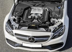 Mercedes-Benz C63 AMG Coupe 2016, двигатель