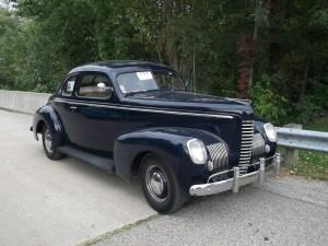 Nash Ambassador Eight Coupe, 1939 год