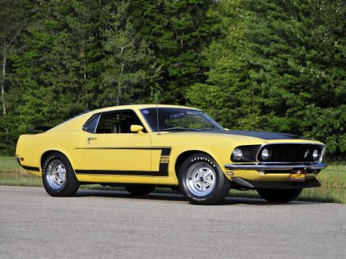 Ford Mustang Boss 302 1969 года