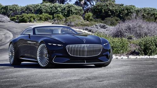 Концепт-кар Mercedes-Benz Vision Maybach 6 Cabriolet: гимн роскоши