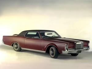 Lincoln Continental Coupe 1969 года