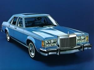 Lincoln Versailles 1977 года