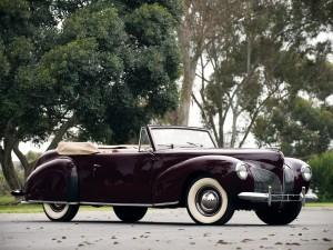 Lincoln Continental 1939 года