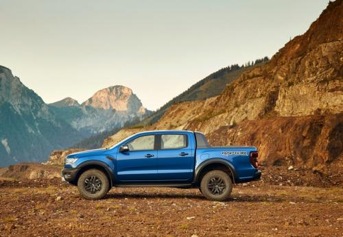 Ford Ranger Raptor 2019, вид сбоку