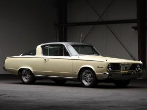 Plymouth Barracuda 1966 года