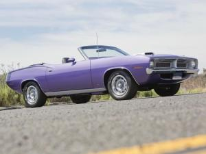 Plymouth Cuda Six Pack Convertible 1970 года