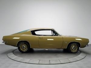 Plymouth Barracuda Fastback 1968 года