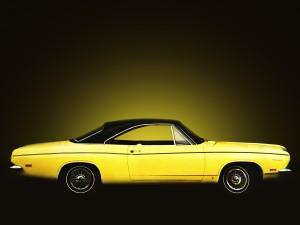 Plymouth Barracuda Hardtop 1969 года