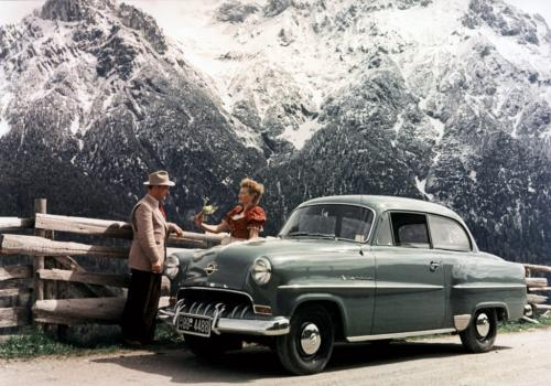 Opel Olympia Rekord 1953 года