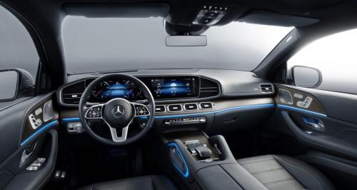 Новый Mercedes-Benz GLE Coupe, салон