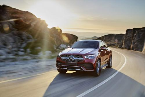 Mercedes-Benz GLE Coupe 2020, вид спереди