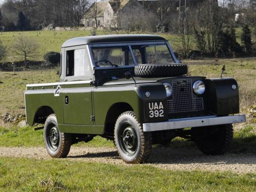 Land Rover Series II 1958 года
