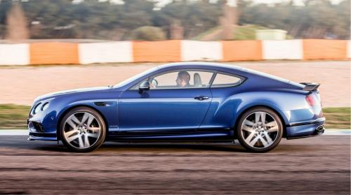 Bentley Continental Supersports вид сбоку