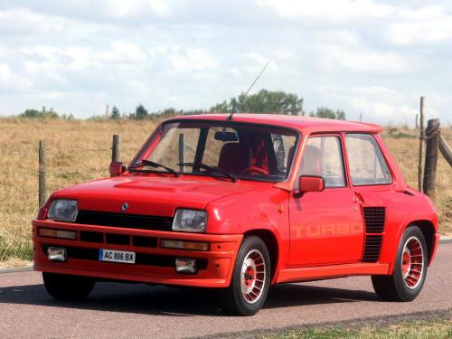 Renault 5 Turbo 1980 года