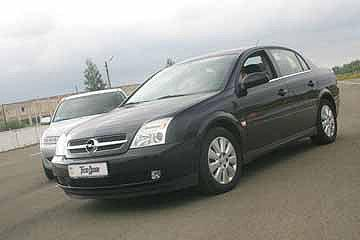 Mazda6 1.8, Opel Vectra 2.2, Honda Accord 2.0, Honda Accord 2.4