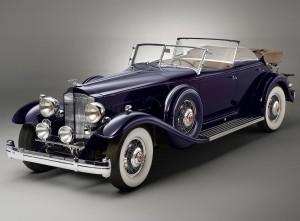 Packard Twin Six Dietrich Phaeton 1932 года
