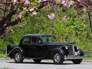 Packard Twelve Coupe 1936 года
