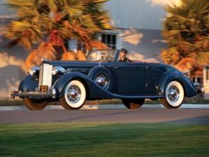 Packard Twevle Dietrich Coupe Roadtser 1934 года
