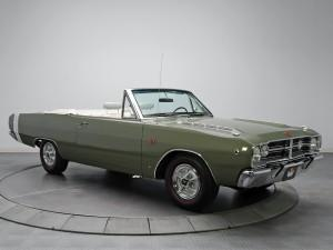 Dodge Dart Convertible 1968 года